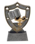 Shield Star -Knowledge Shield Star Line Resin Trophy Awards