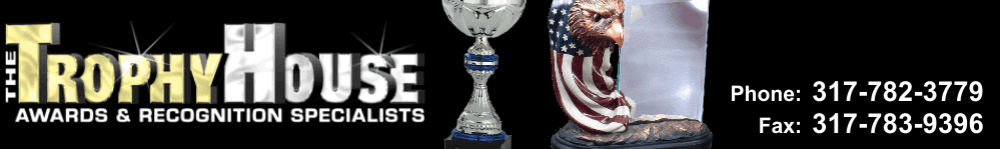 The Trophy House - acrylic awards, crystal awards, cup trophies, perpetual plaques, baseball trophies, football trophies, soccer trophies, corporate plaques, recognition plaques, glass awards, gifts, clocks, corporate awards, indianapolis, in,